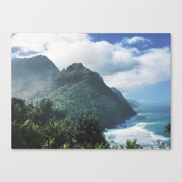 Na Pali Coast Kauai Hawaii Canvas Print