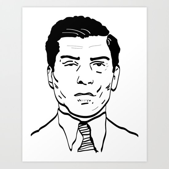 Charles 'Lucky' Luciano Art Print