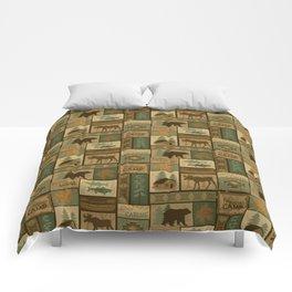 Big Bear Lodge Comforters