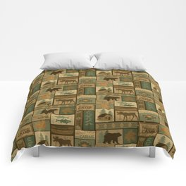 Big Bear Lodge Comforters