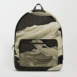 """Scandinavian Japanese Abstract"" Backpack"