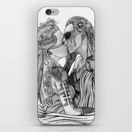 Clexa Wedding iPhone Skin