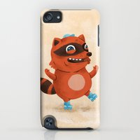 Rollerblade Raccoon iPod touch Slim Case