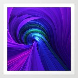 Twisting Forms #6 Art Print