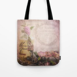Maison de Jardin Tote Bag
