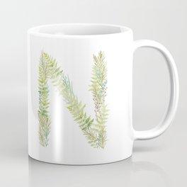 Initial N Coffee Mug