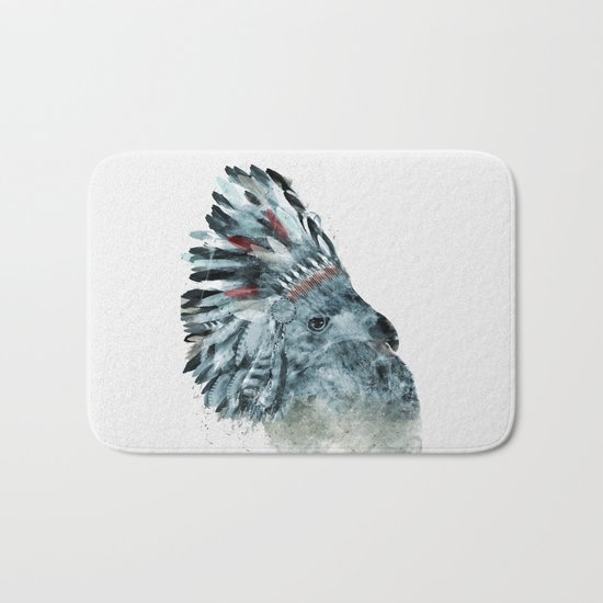 the elder hawk Bath Mat