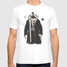 The Dark Knight: Bane MEDIUM Mens Fitted Tee White