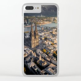 Fall upon Cologne Clear iPhone Case