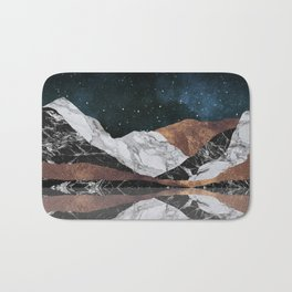 Landscape Mountains Bath Mat