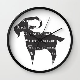 Black Phillip IV Wall Clock