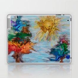 Arboles y Sol Laptop & iPad Skin