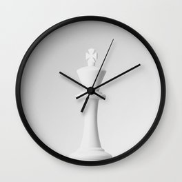 GAME OF THE THRONE / THE WHITE KING Wall Clock