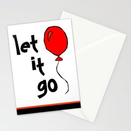 let it go .... Stationery Cards