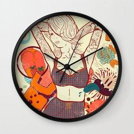 Alma Colorida Wall Clock