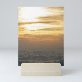 lovely sunset in san salvador  Mini Art Print