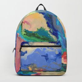 Watercolor Series (Exploding Flower) Backpack