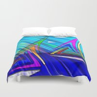 sail Duvet Covers featuring SAIL. by capricorn