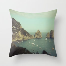 Amalfi coast, Italy 2 Throw Pillow