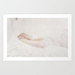 Silk and Skin Art Print