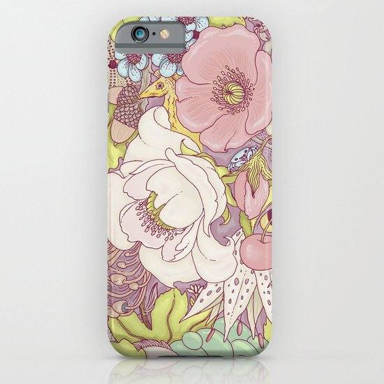 the wild side - summer tones iPhone & iPod Case