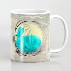 hypnotic rabbit Mug