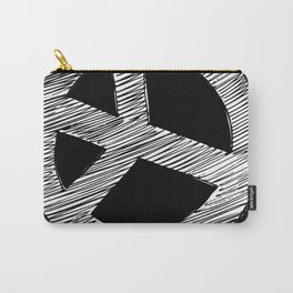 Peace Sign Sketch Carry-All Pouch