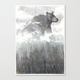 The Bear Lin  Canvas Print