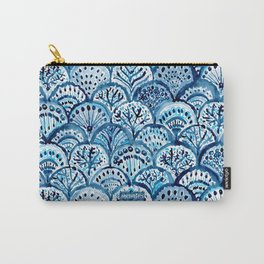 DEEP LIFE Mermaid Scales Carry-All Pouch