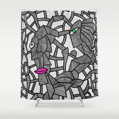 - nobody's perfect - Shower Curtain
