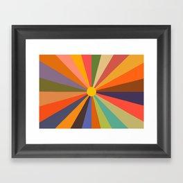 Sun - Soleil Framed Art Print