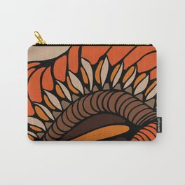 Shell - Orange Carry-All Pouch