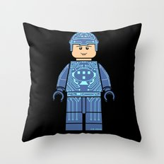 Tron Lego Throw Pillow