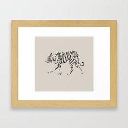 On Patrol Framed Art Print