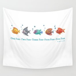 One Fish, Two Fish . . . Wall Tapestry