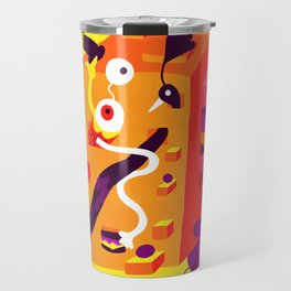 The Moving Block Travel Mug