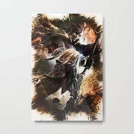 League of Legends JARVAN IV Metal Print