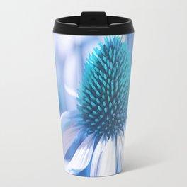 Coneflower blue 11 Travel Mug