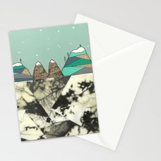Winter Slopes Stationery Cards