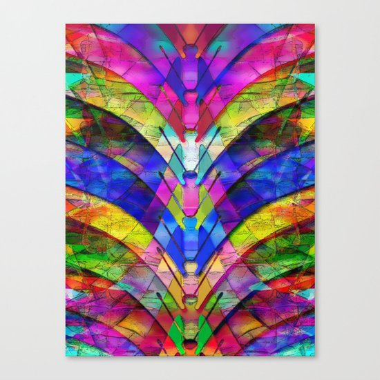 The Butterfly Collector's Dream Canvas Print