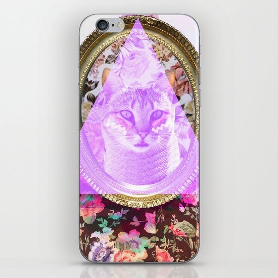 Mirror mirror on the wall who's the fairest of them all iPhone Skin