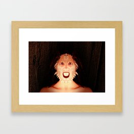 Hell Hath No Fury Framed Art Print