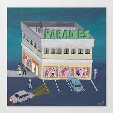 Paradies Canvas Print