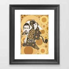 Residents of 221B Framed Art Print
