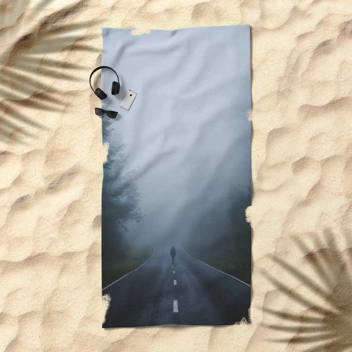 Into the Mist Beach Towel