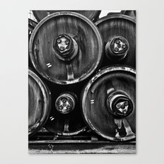 Wheel Stack Canvas Print