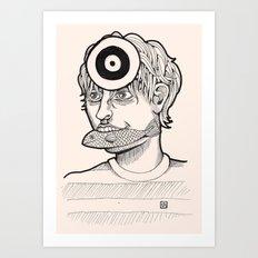 Fish'n'target Art Print
