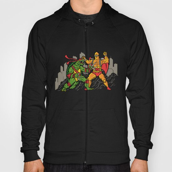 Teenage Mutant Gamera Ninja Hoody