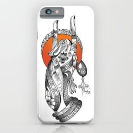Apan Mudra iPhone Case
