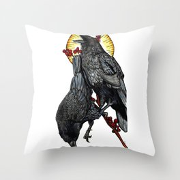 Leave Me Starving for Answers Throw Pillow